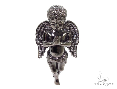 Praying Angel Silver Pendant 36601 Metal