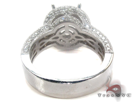 Princess Semi Mount Ring Engagement