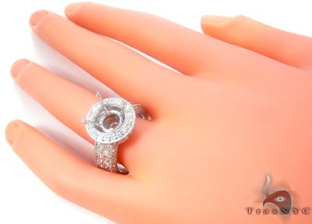 Princess Semi Mount Ring Engagement