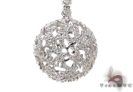 Ladies Diamond Necklace 20529 Diamond