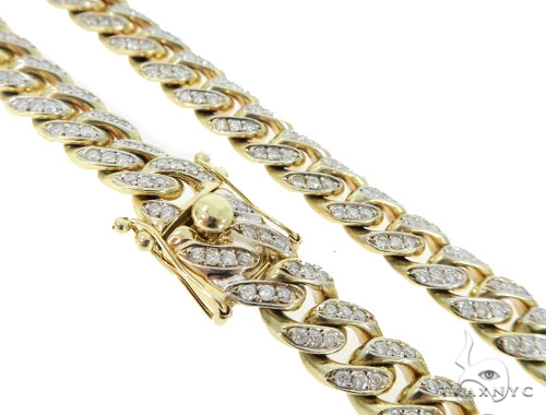Prong Cuban/Curb Diamond Chain 56395 Diamond