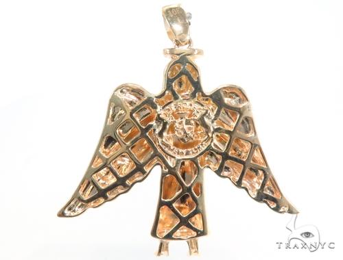 Prong Diamond Angel Pendant 45185 Metal
