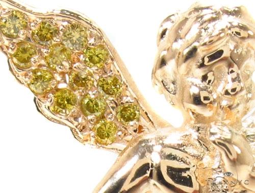 Prong Diamond Pendant 36460 Metal