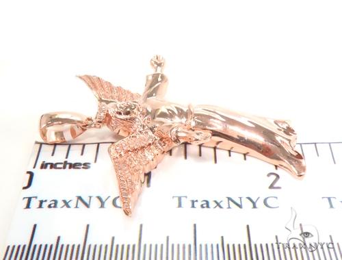 Prong Diamond Angel Pendant 45171 Metal