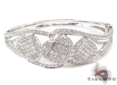 Prong Diamond Bangle Bracelet  32192 Bangle