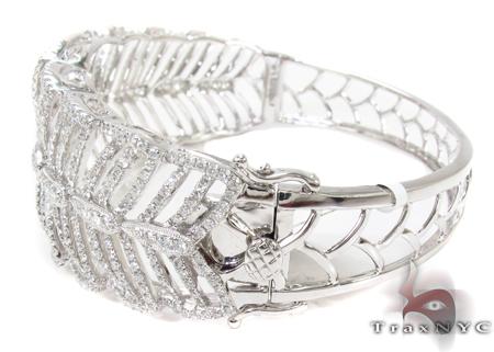 Prong Diamond Bangle Bracelet 32188 Bangle