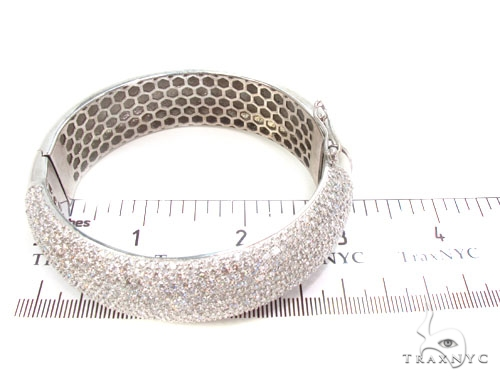 Prong Diamond Bangle Bracelet 36899 Bangle