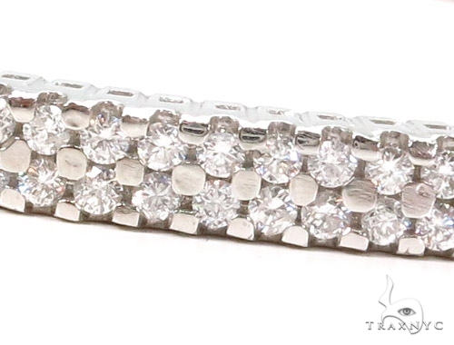 Prong Diamond Bangle Bracelet 37396 Bangle