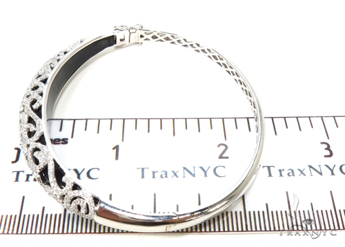 Prong Diamond Bangle Bracelet 38027 Bangle