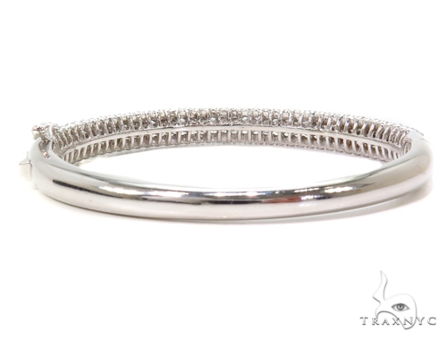 Prong Diamond Bangle Bracelet 40682 Bangle