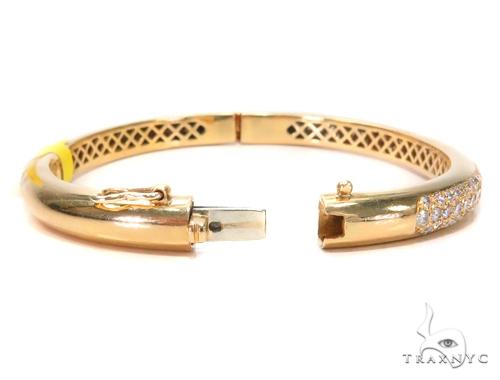 Prong Diamond Bangle Bracelet 43130 Bangle