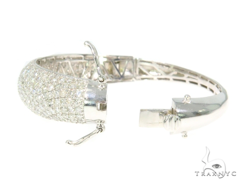 Prong Diamond Bangle Bracelet 44508 Bangle
