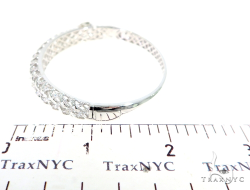 Prong Diamond Bangle Bracelet 56495 Diamond