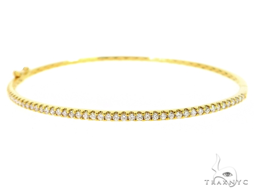 Prong Diamond Tennis Bracelet 56505 Diamond