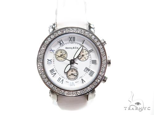 Prong Diamond Benny & Co Watch 40642 Benny & Co ベニー&コ