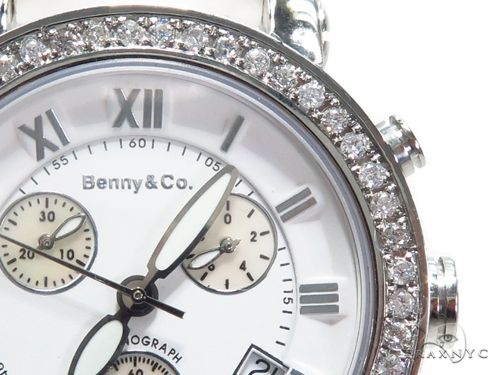 Prong Diamond Benny & Co Watch 40642 Benny & Co