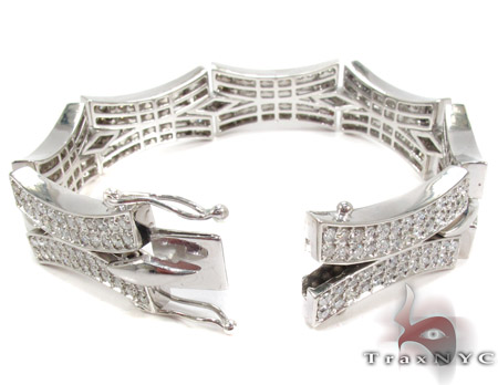 Prong Diamond Bracelet 28363 Diamond
