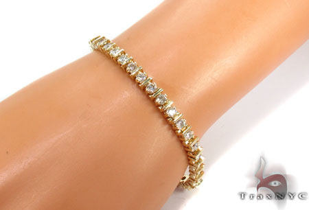 Prong Diamond Bracelet 30619 Tennis