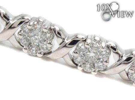 Prong Diamond Bracelet 31299 Diamond