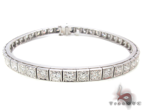 Prong Diamond Bracelet 34044 Tennis