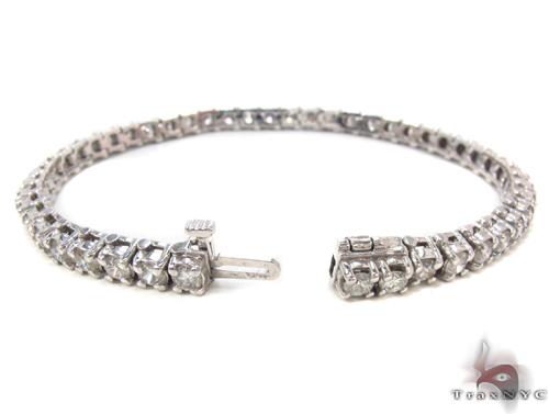 Prong Diamond Bracelet 34045 Tennis