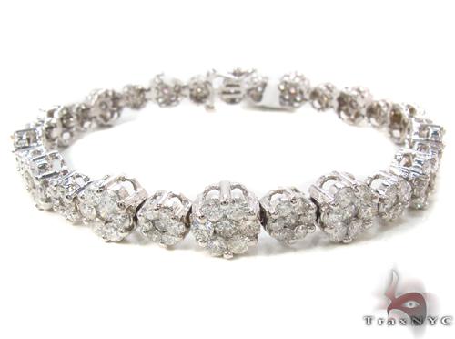 Prong Diamond Bracelet 34046 Diamond
