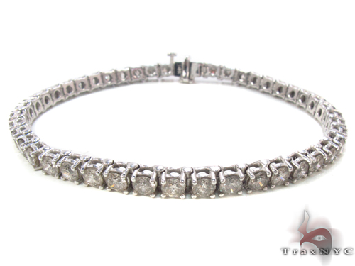 Prong Diamond Bracelet 34047 Tennis