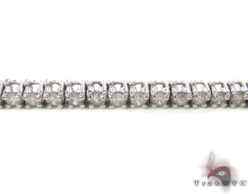 Prong Diamond Bracelet 34048 Tennis