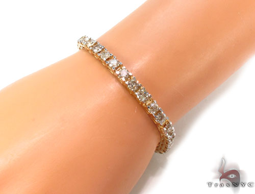 Prong Diamond Bracelet 35632 Diamond