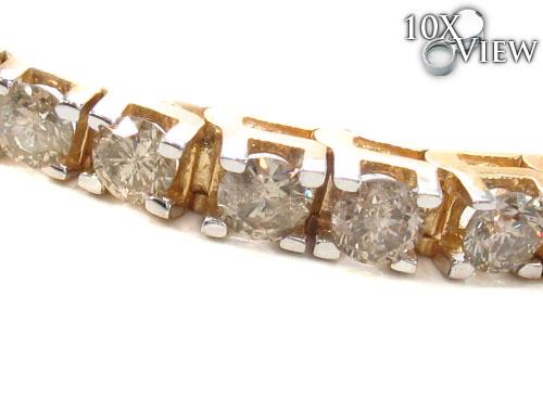 Prong Diamond Bracelet 35632 Diamond