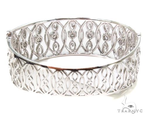 Prong Diamond Bracelet 38005 Bangle