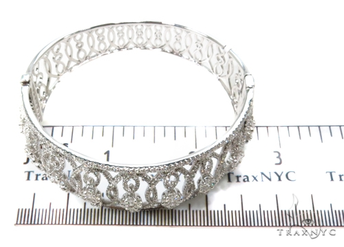 Prong Diamond Bracelet 38005 Bangle