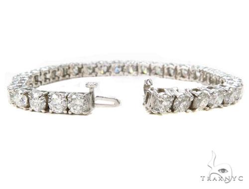 Prong Diamond Bracelet 39773 Tennis