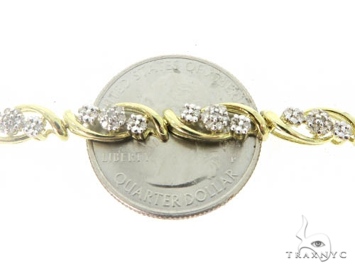 Prong Diamond Bracelet 49613 Diamond