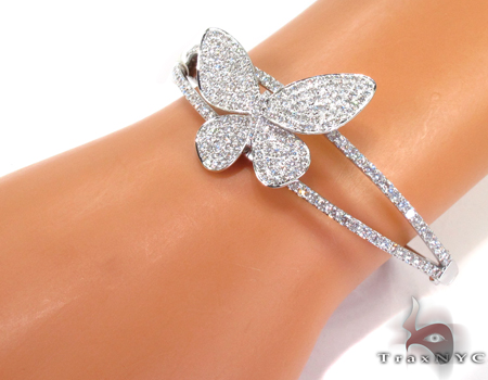 مدل دستبند طلای پروانه ایی