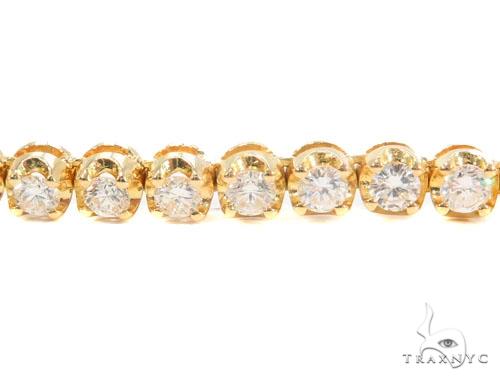 Prong Diamond Chain 24 Inches 6mm 95.5 Grams 45098 Diamond