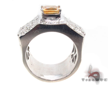 Citrine Gemstone Ring Stone