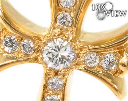 Chrome Hearts Cross Diamond