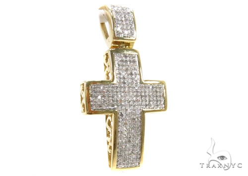 Prong Diamond Cross 37554 Diamond