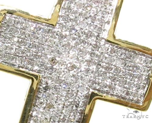 Prong Diamond Cross 37554 Diamond