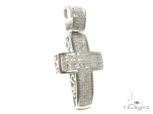 Prong Diamond Cross 37559 Diamond