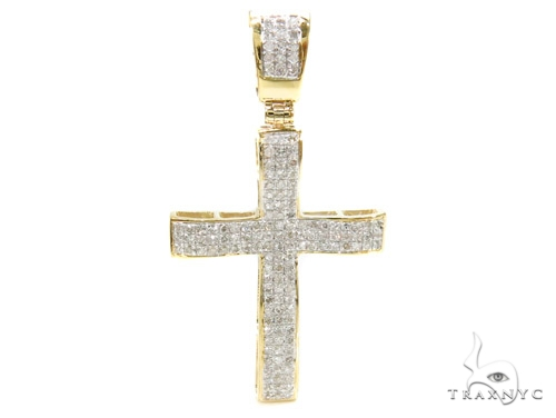 Prong Diamond Cross 37891 Diamond