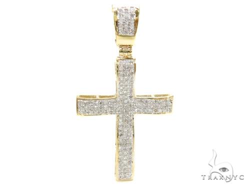 Prong Diamond Cross 37891 Diamond
