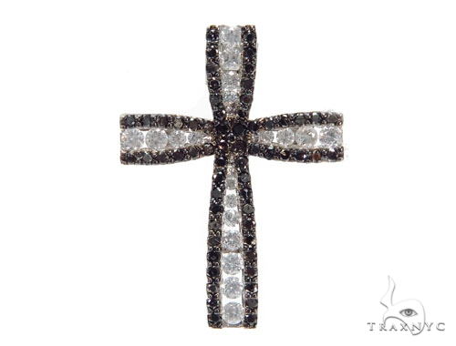 Prong Diamond Cross Pendant 41936 Diamond Cross Pendants