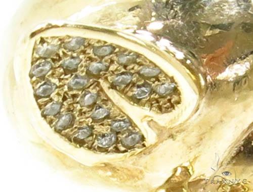 Prong Diamond Custom Pendant 37266 Metal