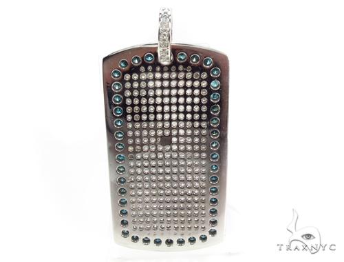 Prong Diamond Dog Tag 35267 Style