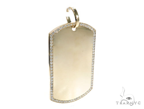 Prong Diamond Dog Tag 42497 Style