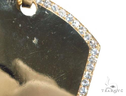 Prong Diamond Dog Tag 42497 Style