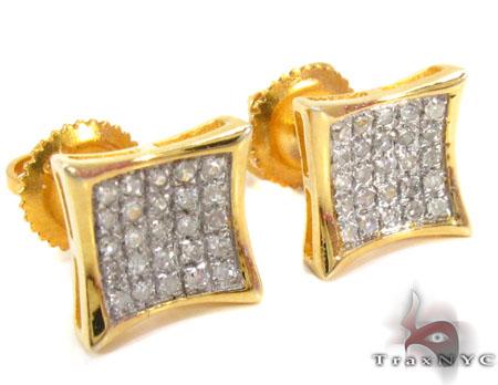 Prong Diamond Earrings 30833 Metal