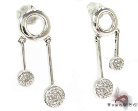 Melody Diamond Earrings 29085 Stone